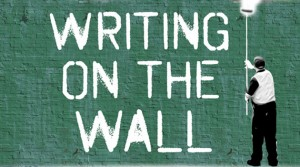 writing-on-the-wall